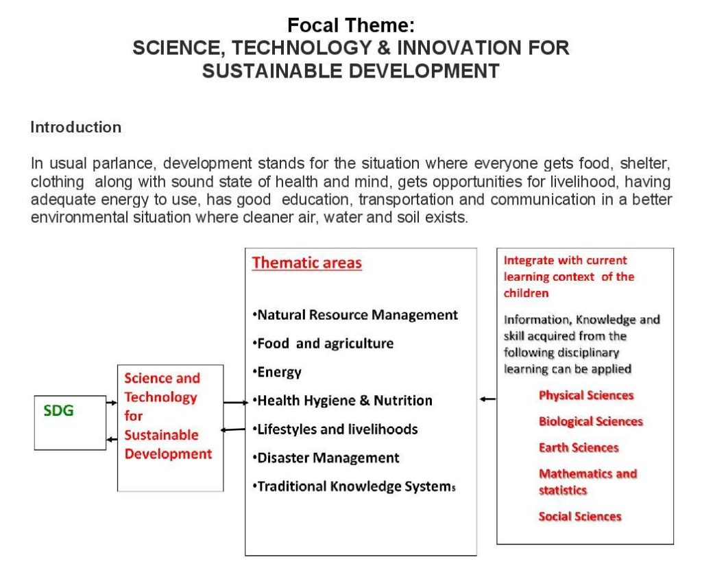 essay for science and technology for sustainable development In the essay we discuss three theoretical approaches an essay on innovations for sustainable development food science & technology.